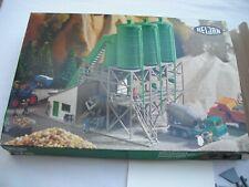 Heljan 1715 Concrete Cement Mixing Plant, Structure Building Model Kit, HO Scale