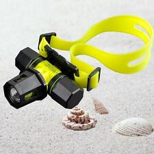 6000Lm CREE XM-L T6 LED Diving Zoom Headlamp Headlight Waterproof Light Torch ZH