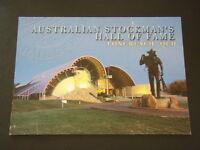 AUSTRALIAN STOCKMAN'S HALL OF FAME LONGREACH QLD POSTCARD