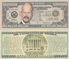 Bruce Willis Caricature Million Dollar Tract Fun Money Novelty Note +FREE SLEEVE