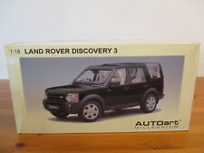 ( GOR ) 1:18 AUTOART Land Rover Discovery 3 2005 nuevo emb. orig.