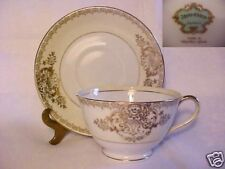 """KYOTO CHINA OF JAPAN CUP AND SAUCER SET (FOOTED) 2 1/4"""""""