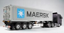 56326  Tamiya 1/14 R/C 40-FOOT CONTAINER  3-AXLE SEMI-TRAILER  Truck Scania  MAN