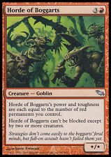 2x Orda di Boggart - Horde of Boggarts MTG MAGIC SM Shadowmoor Ita