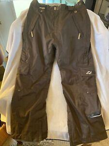 Ride Snowboard Pants Cell 10 Series Mens Size Large 10k Waterproof Teflon DWR