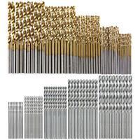 100pcs/set HSS Twist Drill Woodworking High Speed Steel Drill Bit Set DIY Tools