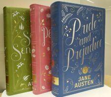 Jane Austen 3 Flexibound: PERSUASION, PRIDE AND PREJUDICE, SENSE AND SENSIBILITY