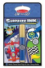 Surprize Ink Vehicles on The Go Travel Activity Book - Melissa & Doug