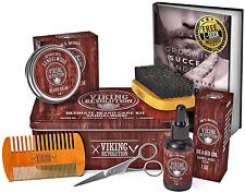 Beard Care Kit for Men- Sandalwood- Ultimate Beard Grooming Kit includes 100% Bo