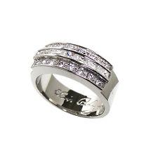 More details for elvis presley wedding ring with sterling silver with swarkovski  crystals