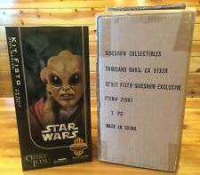 """Sideshow EXCLUSIVE Kit Fisto 12"""" Action Figure Star Wars 1:6 Scale BRAND NEW!"""