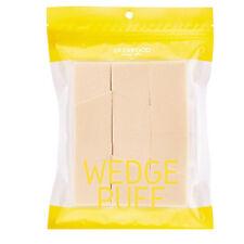[Skin Food] Wedge Puff Sponge Jumbo Size 12pcs Authorized Supply K-Beauty Korea