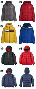 New Tommy Hilfiger Boys Puffer Jacket Choose Color and Size MSRP $110