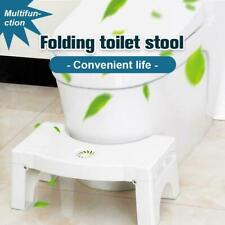 Foldable Toilet Squatty Step Stool Potty Squat Aid For Constipation Piles Relief