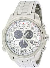 Citizen Eco-Drive Perpetual Calendar Alarm Mens Watch BL5400-52A