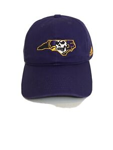 ECU Vintage Hat Pirates Hat Rucker Cap 80s East Carolina University Pirates Yellow Purple Hat LA Lakers Colors Rare 80s Hats Football lids