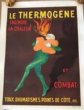 Le Thermogene Cappiello Belgium 1952 Original Vintage Litho Advertising Poster