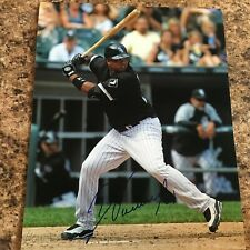 Dayan Viciedo Signed 8x10 Photo Autograph Chicago White Sox