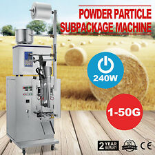 1-50g Weighing Packing Filling Particles&Powder Machine Sesame Combo Seeds