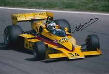 Jean Pierre Jarier Hand Signed 12x8 Photo ATS Racing F1.