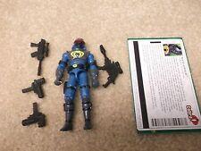 Complete Excellent Condition GI Joe 2004 Valor vs Venom Figure Neo Viper V6