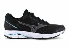 BRAND NEW Mizuno Womens Wave Rider 22 Black Curacao Size US6.5 RRP $199.99