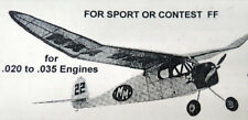 Comet JR CLIPPER PLUS 35% PLAN a Doc Mathews Enlarged to 1/2A RC Model Airplane