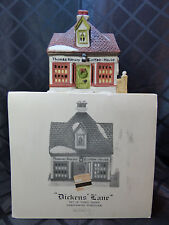 """House - Dept '56 in box, Dickens' Lane, """"Thomas Kersey Coffee House"""""""