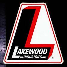 LAKEWOOD Industries - Original Vintage 60's 70's Racing Decal/Sticker - 5 inch
