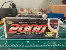 Vintage Sanyo Matched NiCd Sub-C Cells 2000 MaH Battery Integy Zapped Kinwald RC
