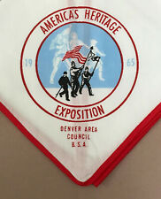 USA BOY SCOUTS OF AMERICA - BSA SCOUT AMERICA'S HERITAGE EXPOSITION NECKERCHIEF