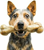 Chew Toys for Aggressive Chewers Indestructible Bone Interactive Dog Toy Bacon