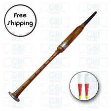 Bagpipe Practice Chanter Rosewood Natural Silver amount+ 2 free reed
