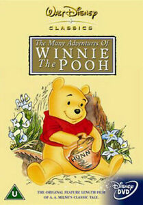 THE MANY ADVENTURES OF WINNIE THE POOH DVD (Reg 2, 1968)