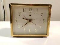 Vintage GE General Electric Telechron Alarm Clock - Model 7HB204 Retro. Works.