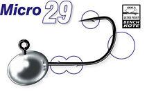 Mustad Micro 29 / jig heads / 0,8-5,5g / 3 Stück