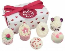 BOMB COSMETICS *LITTLE BOX OF LOVE* LUXURY BATH PAMPER ASSORTMENT GIFT SET NEW
