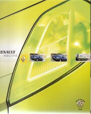 Prospetto/brochure RENAULT MEGANE 01/2003
