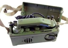 Authentic Military Field Phone Communications For Troops
