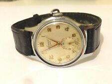 Autentico Originale Vintage Accurist MILITARE LAVORO UOMO SWISS WATCH AFFARE