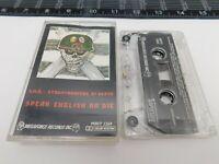 S.O.D. Stormtroopers Cassette Speak English or Die Audio Tape MRIT-1269 C7-1