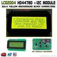 Yellow Serial IIC I2C TWI 2004 20x4 Character LCD Module Display Screen Arduino