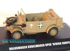 """1:43 Military Model VOLKSWAGEN KUBELWAGEN OPEN """"Africa Korps"""" _ DeAgostini (00)"""