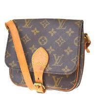 Auth LOUIS VUITTON Mini Cult Sierre Shoulder Bag Monogram Leather M51254 81MF290