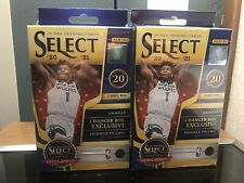 New listing 2020-21 Panini Select Basketball Hanger Box Lot Of 2 Factory Sealed QTY