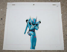 Bubblegum Crisis Anime Cel Original Animation Art Priss Hardsuit Jump