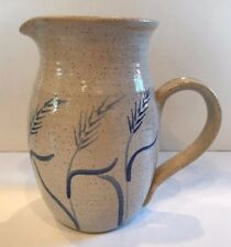 Contemporary American Art Pottery Pitcher Hand Made
