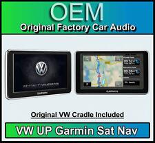 VW UP Garmin Sat Nav, Volkswagen UP! maps + more portable navigation and Cradle