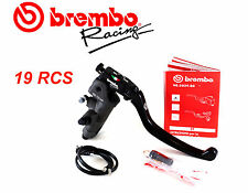 BREMBO SET MASTER CYLINDER RADIAL RCS 19mm Motorcycle Yamaha with 2 DISCS FRONT