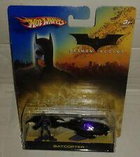 Voiture Batman batmobile batcopter  hot wheels begins hotwheels